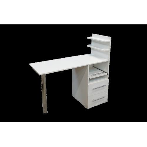 """Маникюрный стол """"Комфорт"""" Белый"""